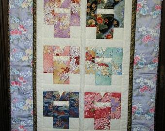 Kimono Quilt Wallhanging