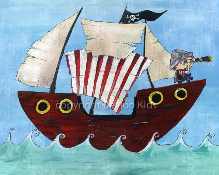 Pirate Art 8x10 Pirate...