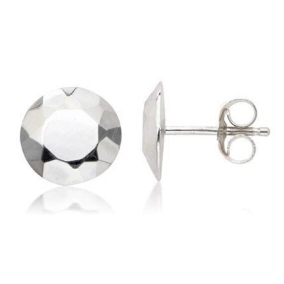 Tiny silver stud earrings, silver studs, nickel free earrings, modern stud earrings, stud earings sterling silver, Modern Rock ready to ship