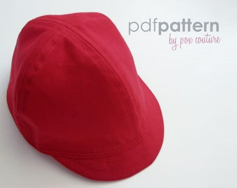 Kids Summer Cap - PDF Sewing Pattern and Instructions