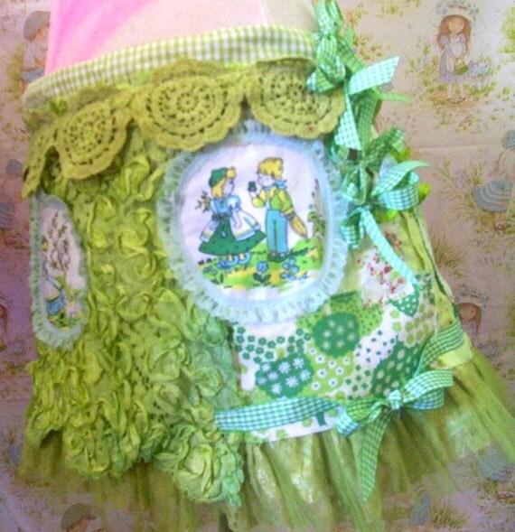 Reserved for Jenn...Pixie Spring time skipping skirt