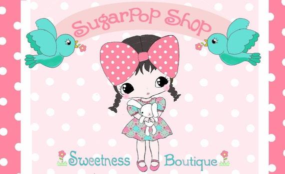 Branding Package Character Logo Custom Banner For your Etsy Shop Business Facebook Profile Cover Blog Website