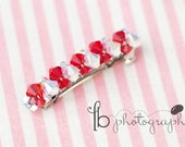 Valentine Boutique Jeweled Barrette