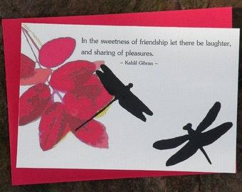 SWEETNESS OF FRIENDSHIP Elemental Art Cards set of 8