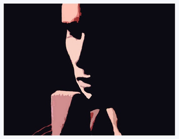 HALLELUJAH Jeff Buckley fine art print