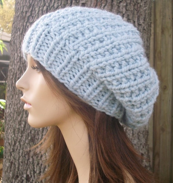 Womens Knit Hat Pattern : Instant Download Knitting Pattern - Womens Hat Pattern ...