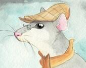Professor Rat - Print