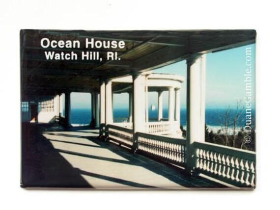 Ocean House, Watch Hill, RI, Refigerator Magnet, Westerly, RI
