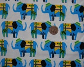 Japanease Fasionable Elephant Fabric FQ