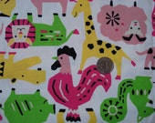 Japanease Adorable Animals Fabric FQ
