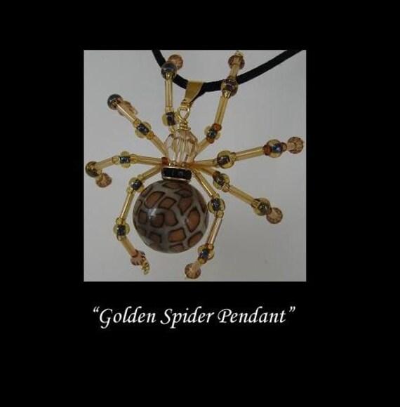 Spider Pendant BHV OGLD