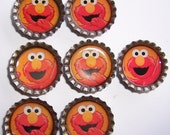 Inventory Reduction Sale - Seven Elmo Magnets -PRICE DROP-