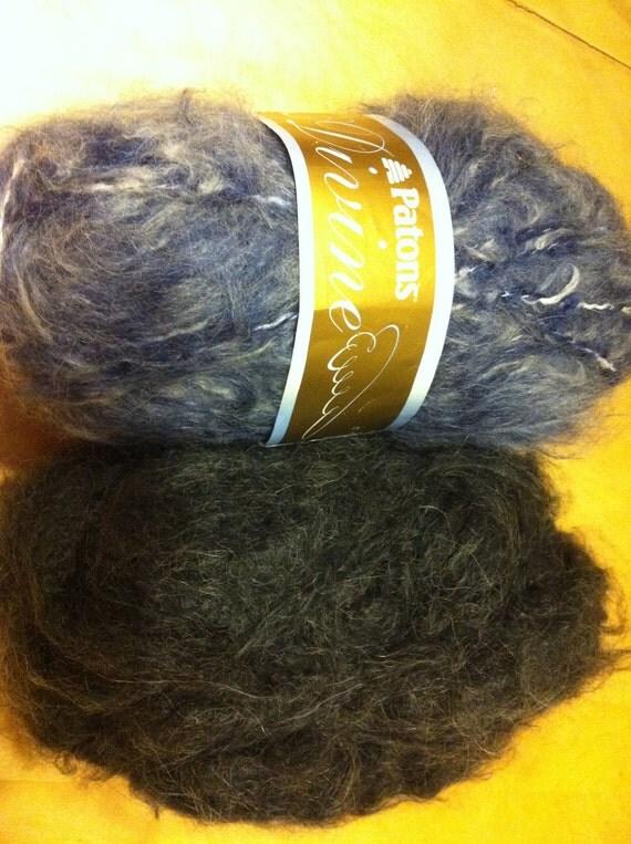 2 Rolls of Patons Divine Yarn
