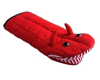 Little Devil Oven Mitt - Character Puppet