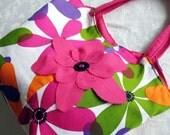 Flower Power Beach Bag Pink