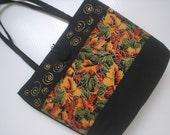 Fall Handbag Tote Black Perfect Gift