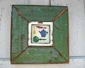 Framed Teapot Tile