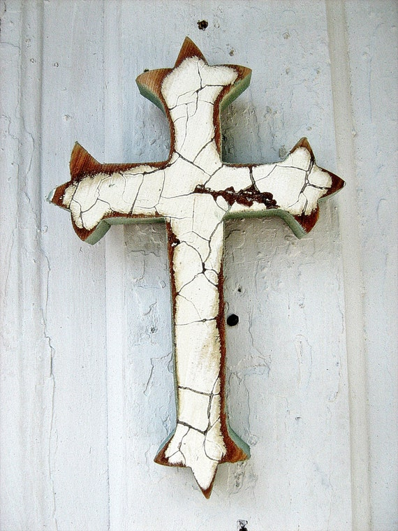 Recycled Wood Cross