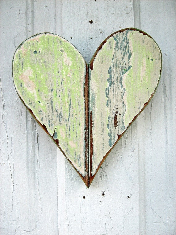 Mint Green Heart
