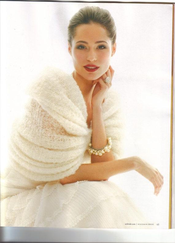 Pleated Bridal Wrap