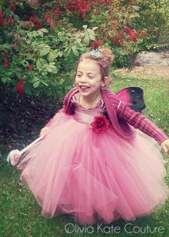 Princess Birthday Tulle Dress . Flower Girl Tutu