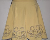 Winged octopus skirt