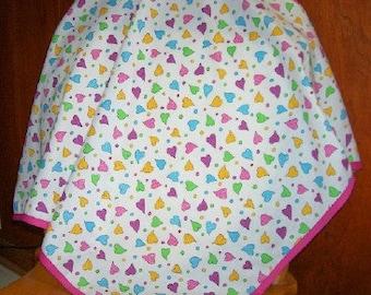 Wild at Heart baby receiving blanket