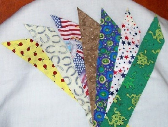 Cooltie Rainbow No. 1----your choice of fabrics