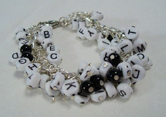 Alphabet Soup cha-cha bracelet