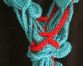 Calypso's Jewel barnacle scarf