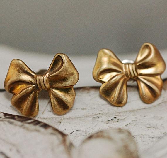 Little Bow Post Earrings Free Shipping