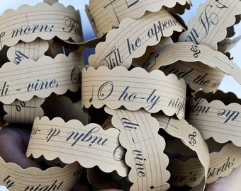 O Holy Night Paperchain