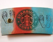 Coffee Sleeve reclaims a new life........ morphed into a mini notepad