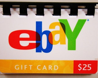EBaY  Giftcard Notebook  ----  No Value on Card -- Novelty Purposes Only