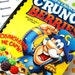 Crunch Berries Cereal (captain crunch) Upcycled Notebook  --  (cereal not included)