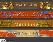Earthy - Banners