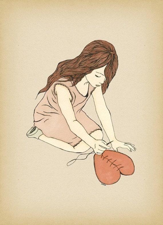 Healing - Art print