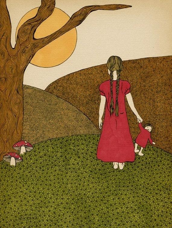 Looking Forward - Art print