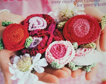 Knitting Patterns Knit Simple Spring Summer 2006 Sweaters Flowers Tank Top Paper Original NOT a PDF