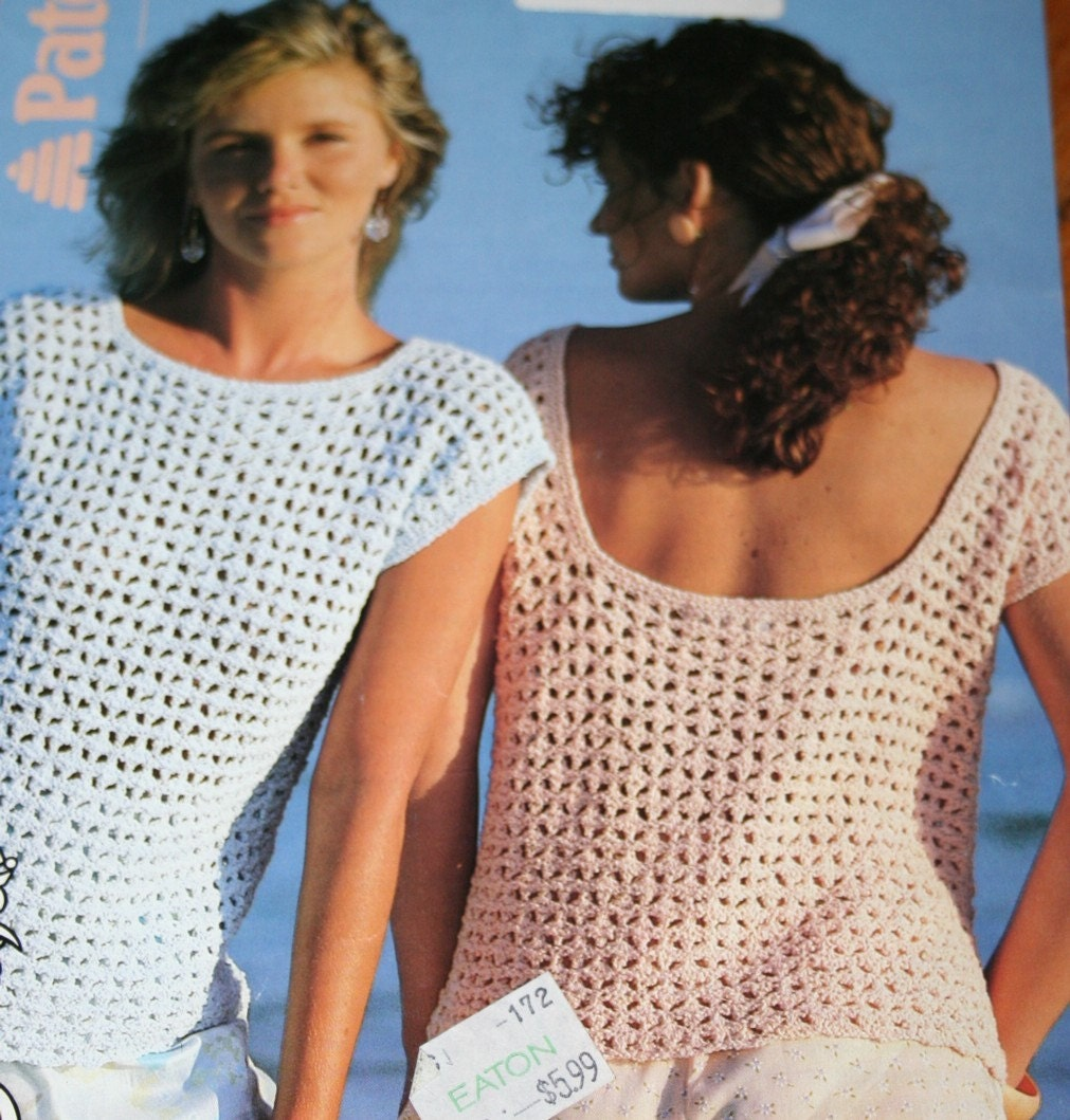 Knitting Patterns Ladies Summer Cardigans : Sweater Knitting Pattern Ladies Summer Beehive Patons by elanknits