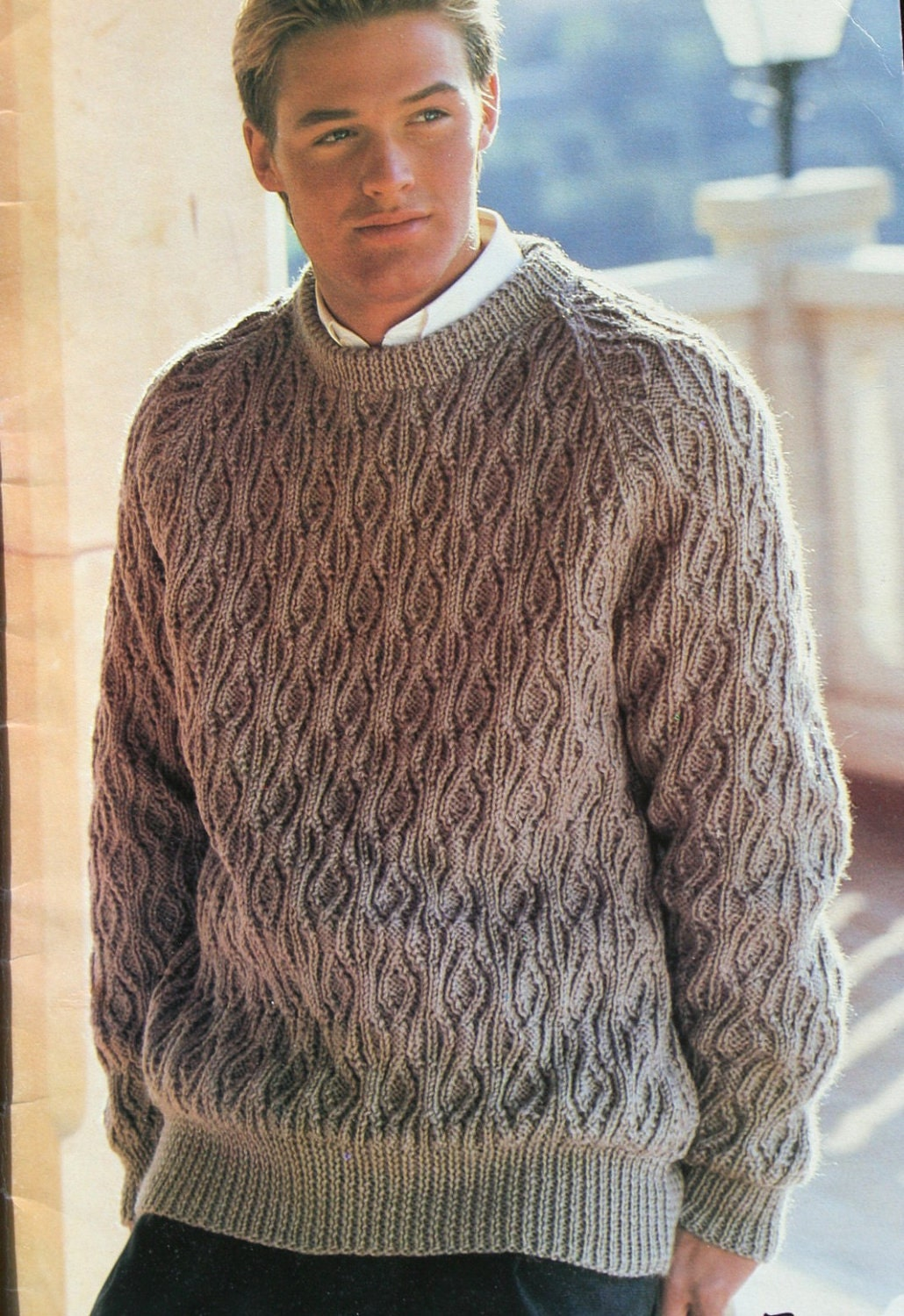 Hand Knitting Designs Sweaters For Men : Knitting patterns men his favourite knits patons by