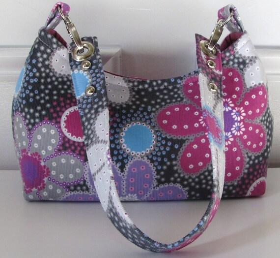 Mini Size Hobo Bag / Handbag with Flat Bottom
