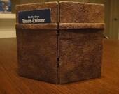 Beautiful microsuede weathered magic wallet