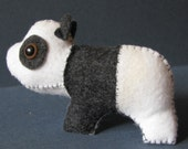 Little Handmade Panda Toy