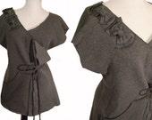 SALE Bow Wrap Sweater M/L