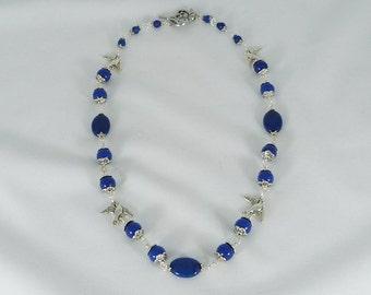 Egyptian Blue Lapis Necklace