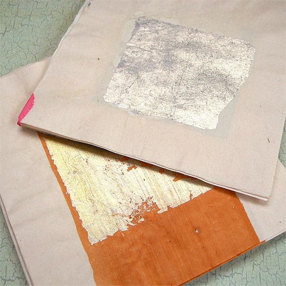 Joss Paper squares lot of 50 sheets silver and gold