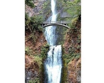 Multnomah Falls in the Spring - gallery wraps, canvas on panel, matted prints