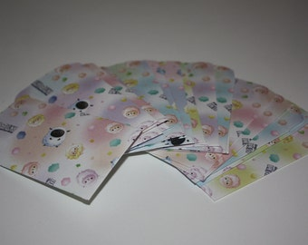 Handmade Mini Envelope Set (xs) - Duki Duki Sheep
