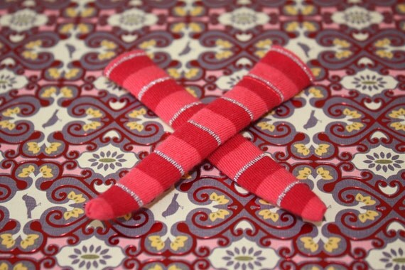 DAL Socks - Cherry Popsicle